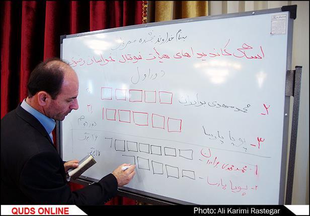 مجمع انتخاب رییس هیات فوتبال استان خراسان رضوی