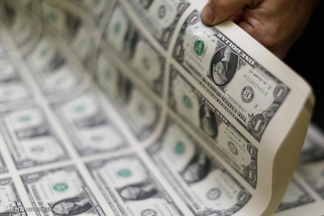 نرخ جدید دلار