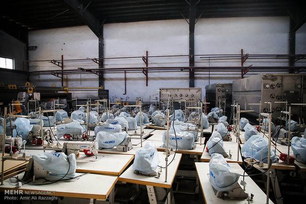 صنعت نساجی اصفهان چشم انتظار گره گشایی از مشکلات /۴۸ درصد صنایع کوچک تعطیل شدند