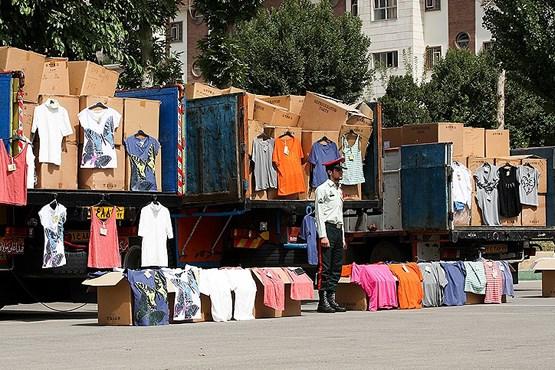 پوشاک قاچاق