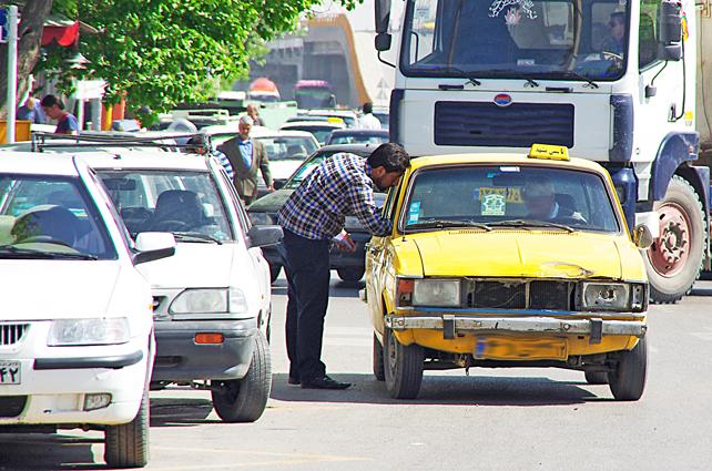 نوسازی تاکسیهای مشهد