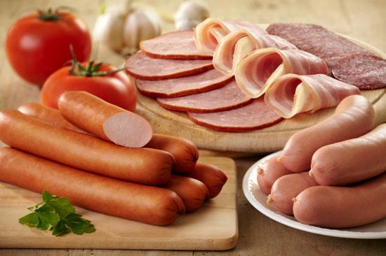 نتیجه تصویری برای گوشت های فرآوری شده