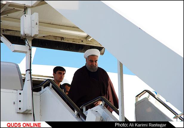 سفر رییس جمهور به مشهد مقدس