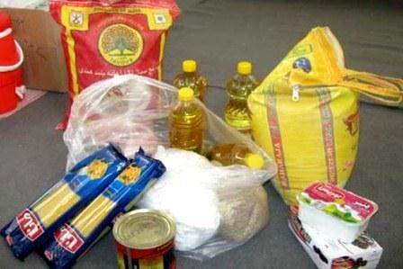 توزیع سبد غذایی خانوارهای کم درآمد