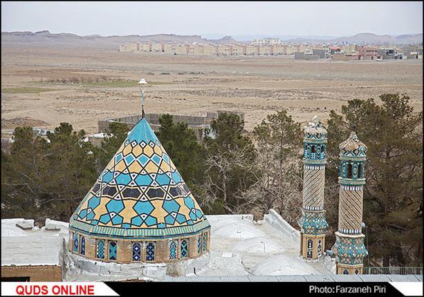 امامزاده زینب خاتون در بخش کهک از توابع قم