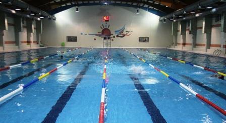 برگزاری مسابقات شنا در دانشگاه شهرکرد
