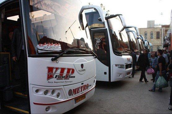 افزایش ۱۵ درصدی نرخ بلیط اتوبوس های برون شهری در نوروز ۹۵