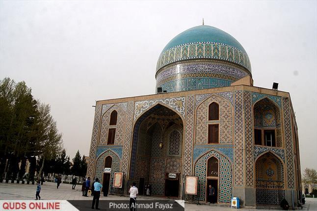 گزارش تصویری: مسافران نوروزی در بقاع متبرکه مشهد مقدس