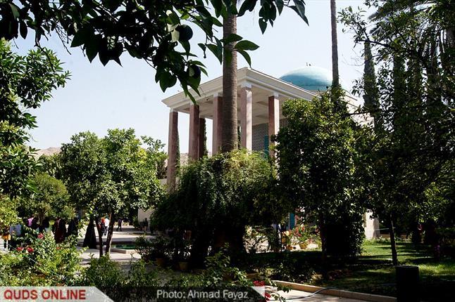 گزارش تصویری آرامگاه سعدی