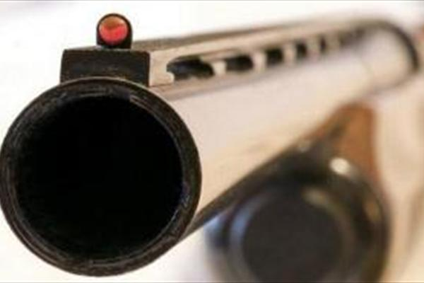 شلیک اسلحه شکاری