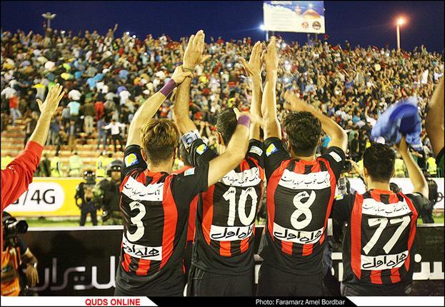 تیم فوتبال سیاه جامگان مشهد در لیگ برتر باقی ماند.