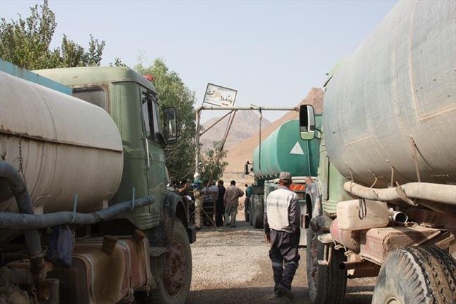 آبرسانی سیار به روستاهای استان
