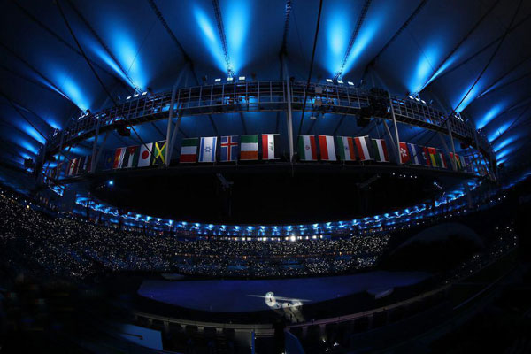 افتتاحیه المپیک ریو