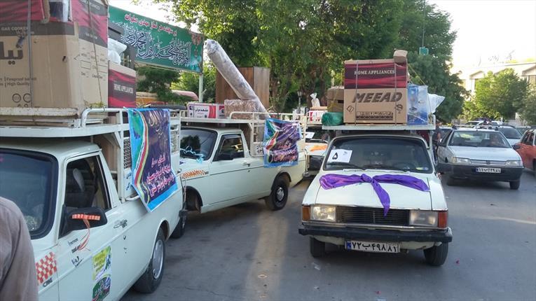۵۰  سری جهیزیه به زوجهای جوان مازندرانی اهدا شد