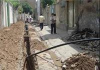 اصلاح  و توسعه بیش از ۳۰ هزار متر شبکه توزیع آب در استان