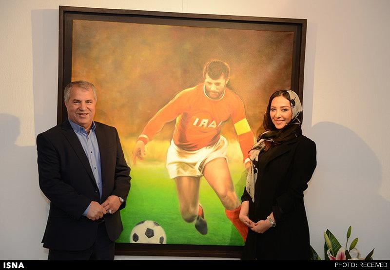 همسر محمد پروین همسر فوتبالیست ها همسر علی پروین ثروت علی پروین بیوگرافی آناهیتا درگاهی