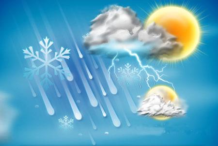 بارش برف در خراسان شمالی/ دمای هوا ۱۴ الی ۲۰ درجه کاهش می یابد,