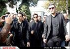 مراسم تشییع مرتضی پاشایی، خواننده پاپ ایران
