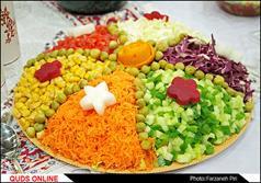 جشنواره غذاهای ایرانی در قم