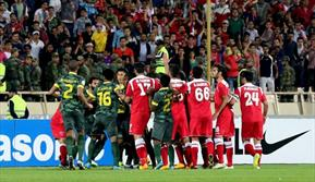دیدار تیم های فوتبال پرسپولیس و النصر عربستان