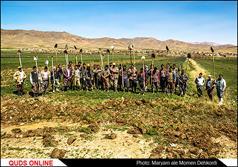 لایروبی جوی های آب روستاهای چهارمحال و بختیاری