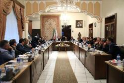 نهاوندیان در جمع اعضای اتاق بازرگانی، صنایع و معادن آذربایجان شرقی: