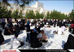 آیین چراغ برات در مشهد