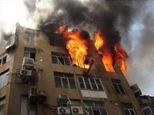 انفجار منزل مسکونی در شهرک آذربایجان خرم آباد
