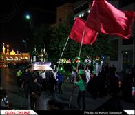 مراسم سوگواری شهادت امام جواد(ع) و وداع با شهید مدافع حرم