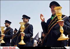 مراسم ظهر شهادت امام جواد (ع) در قم/ گزارش تصویری