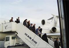 پرواز ورودی حجاج به ایران
