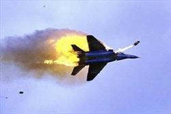 """سرنگونی جنگنده """"اف ۱۶"""