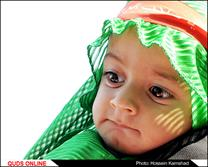 برگزاری مراسم شیرخوارگان حسینی در حرم مطهر رضوی / گزارش تصویری