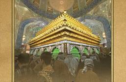 تابلو عکس از حرم حضرت علی (۰ع)۹