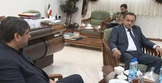 شاهرخی در دیدار با وزیر فرهنگ و ورزش ازبکستان: