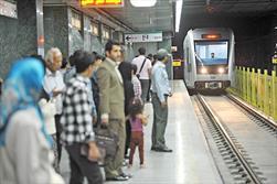 امتداد خط یک قطار شهری مشهد
