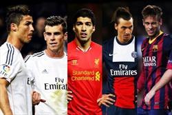 تیم منتخب فوتبال جهان در سال ۲۰۱۵