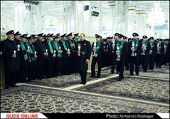 خطبه خوانی شب شهادت حضرت امام رضا (ع)/گزارش تصویری