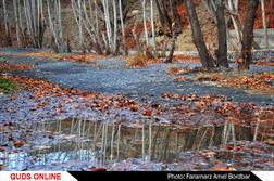 طبیعت پاییزی شهرستان شاندیز