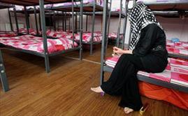 نگهداری زنان معتاد در کمپ شفق