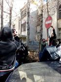 تجمع غیرقانونی مقابل سفارت عربستان و تلاش پلیس برای جلوگیری از بروز درگیری