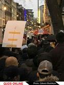 تظاهرات انگلستان. لندن