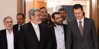انتقاد بشار اسد و رحمانی فضلی ازکارشکنی برخی طرف ها در روند حل سیاسی بحران سوریه