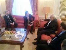 وزیر خارجه اتریش به ملاقات ظریف رفت