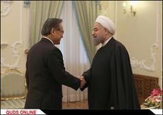 دیدار وزیر امور خارجه تایلند با رییس جمهور