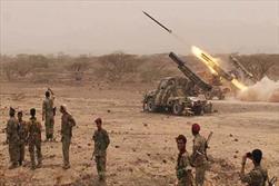 حمله موشکی ارتش یمن به تجمع مزدوران سعودی