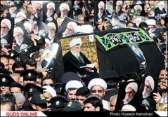 مراسم تشییع پیکر مطهر آیت الله واعظ طبسی در مشهد/گزارش تصویری۵