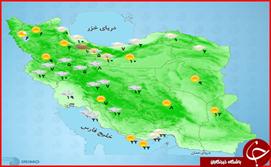 وضع هوای استان ها