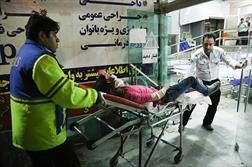 تعداد مصدومان انفجار بازار تهران