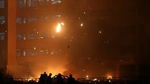 آتش سوزی در امارات